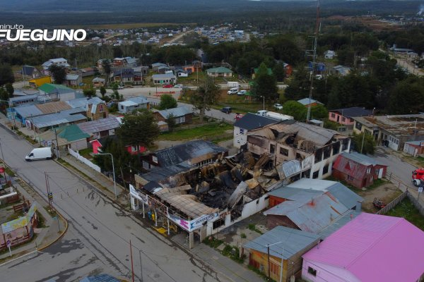 Pérdidas totales: Lamentable incendio en la histórica panadería de Tolhuin